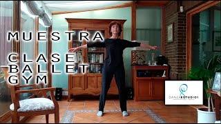 MUESTRA CLASE BALLET GYM ESTUDIO 1