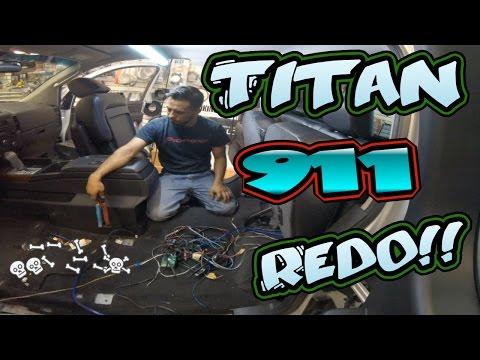 Nissan Titan Car Stereo Installation 911 Redo!