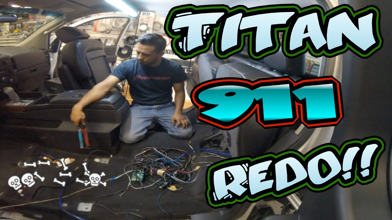 Nissan Titan Car Stereo Installation 911 Redo