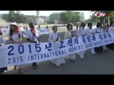Women Activists cross DPRK, South Korea DMZ to Call for Peace