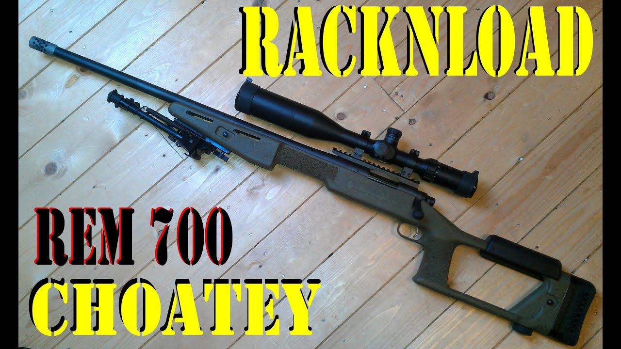 REMINGTON 700  308 'Choate stock review' by RACKNLOAD