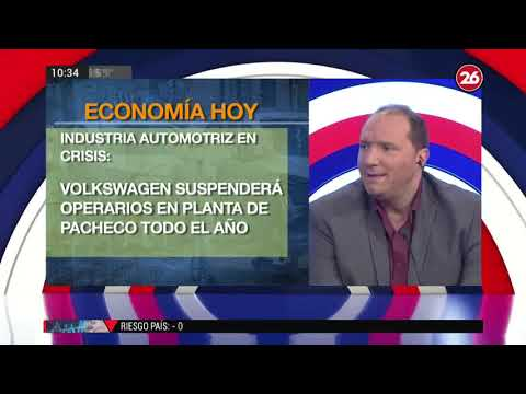 Canal 26 -De 10 a 12 con Federico Bisutti -Miguel Ponce: Economía hoy.wmv