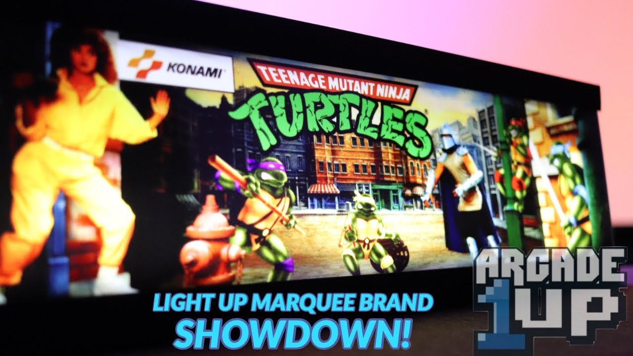 Arcade1Up Light Up Marquee Showdown! Who Makes The Best?
