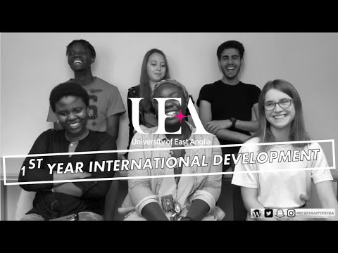1ST YEAR STUDYING INTERNATIONAL DEVELOPMENT @ UEA | MODULE CHOICES, ADVICE, EXAMS & REVISION