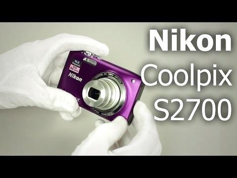 Обзор компактного фотоаппарата Nikon Coolpix S2700