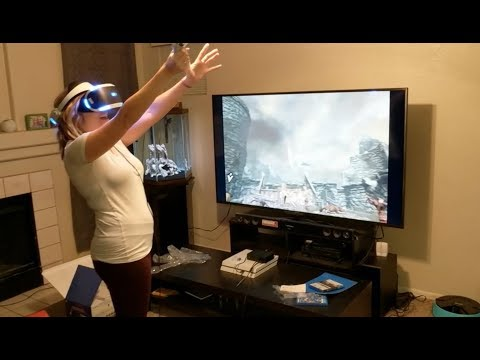New Playstation VR! Skyrim!