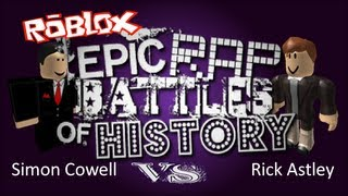 Epic Roblox Rap Battles of History: S2E5 Simon Cowell vs Rick Astley
