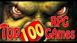 Top 100 RPG Games of all time