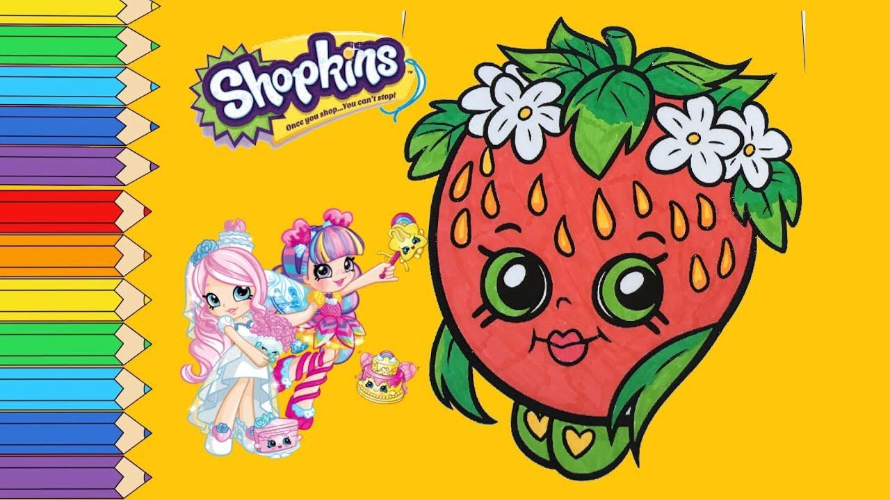Shopkins Strawberry kiss Giant