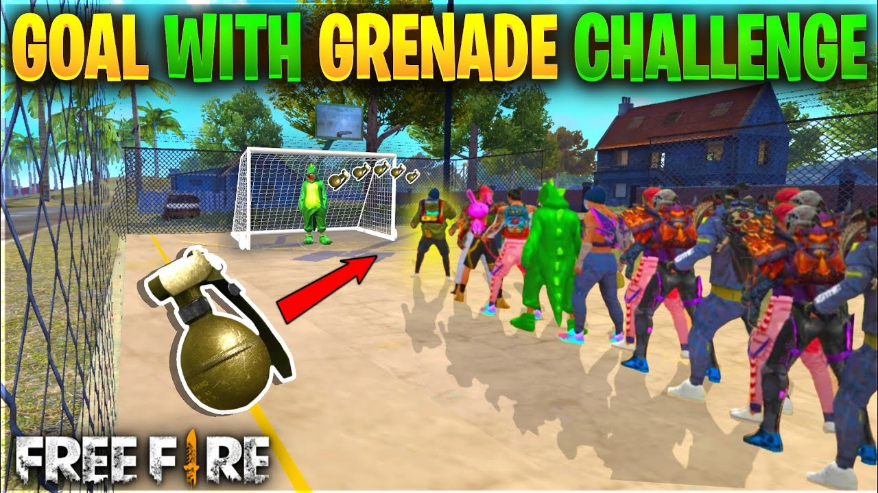 Football Tournament With Grenade In Purgatory Map - Free Fire Funny Game - Garena Free Fire