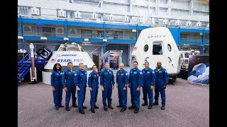 NASA Announces Astronaut Crews for First Commercial Vehicle Flights