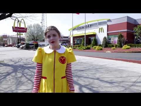 Fight for $15 - Ronald McDonald