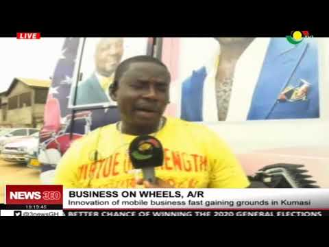 Innovation of business on wheels fast gaining grounds in Kumasi
