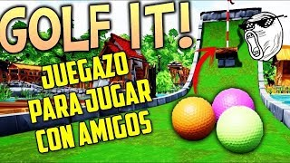 🔴 JUGUEMOS GOLF IT CON MILLANA #7 | GOLF IT | GAMEPLAYSMIX
