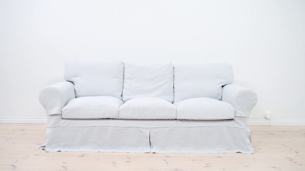 Ektorp Sofa Style : Easy style makeover for your ikea ektorp sofa with bemz youtube
