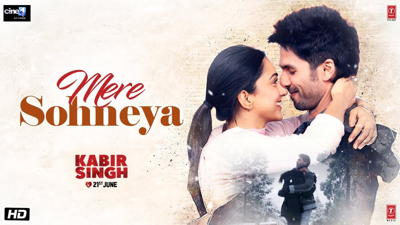 Mere Sohneya Song from Kabir Singh WhatsApp Status Video