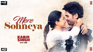 "Presenting the third video song ""Mere Sohneya"" from the upcoming Bollywood movie Kabir Singh is starring Shahid Kapoor and Kiara Advani. The film is ..."