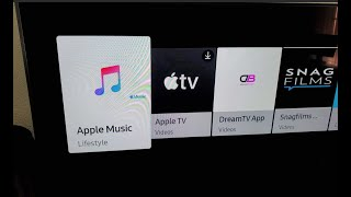 Apple Music On Samsung Smart TV First Look!