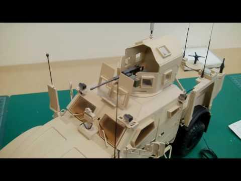 Trumpeter 1/16 US M-ATV MRAP (Oshkosh) # 00930 - THE END - www.emodels.co.uk