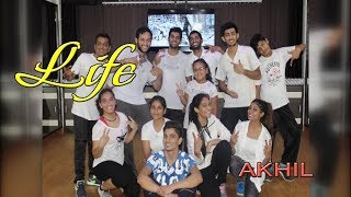 Akhil - Life Song | Dance Performance | Choreography By Step2Step Dance Studio
