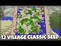 12 VILLAGE CLASSIC SURVIVAL SEED [ Showcase ] Minecraft Xbox / PS4 / PS3 / Wii U / Switch