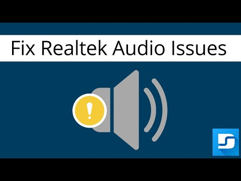 How To Update And Fix Realtek Audio Driver Problems Windows 10