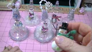 Snow Globe Christmas Ornament Project