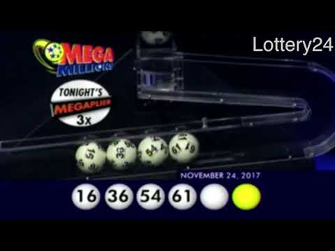 2017 11 24 Mega Millions Numbers and draw results