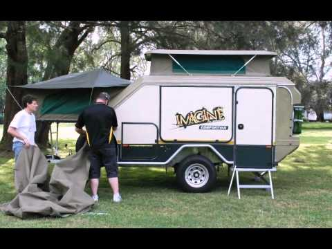 Excellent Tvan Models And Options  Off Road Camper TrailerHybrid