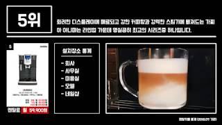 업소용 커피머신 렌탈 베스트 10