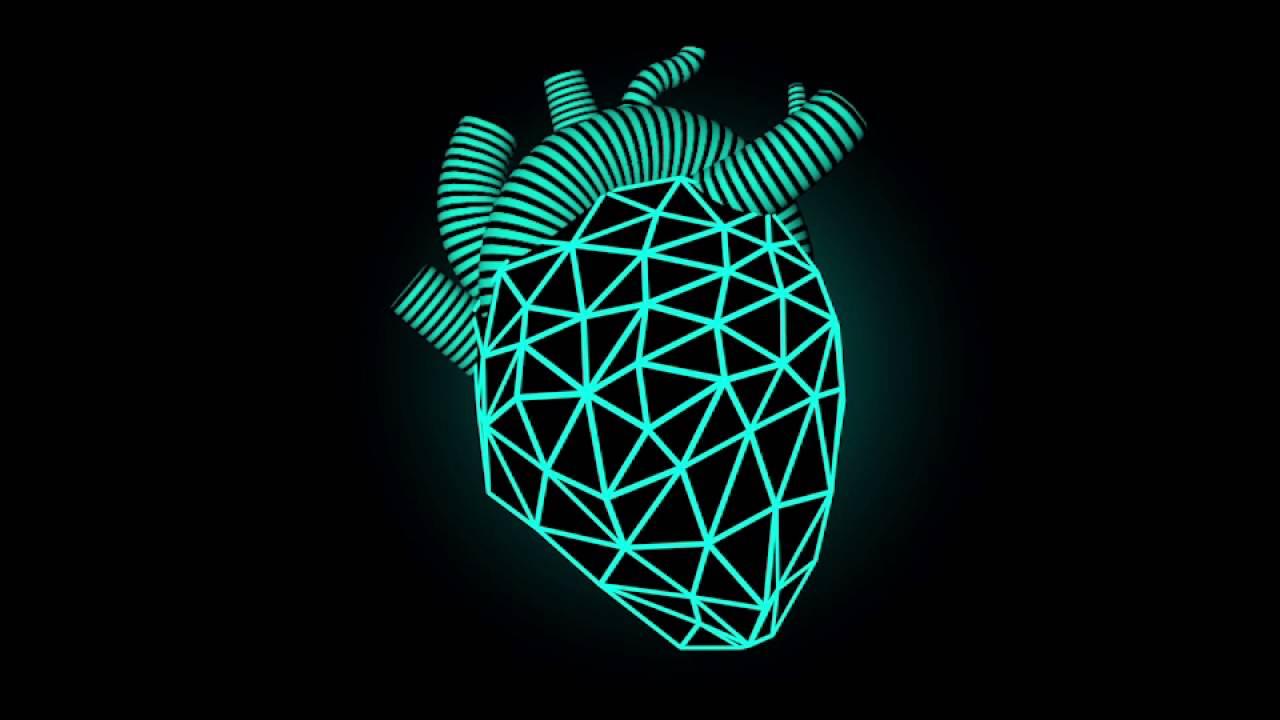 3D LOWPOLY HEART