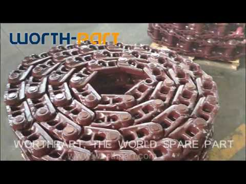 Track Chain Link Assembly Processing(by Xiamen Worthpart Company)