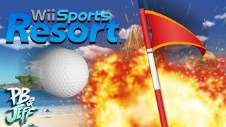 Wii Sports Resort - Part 3: QUINTUPLE BOGEY!