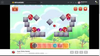 Super Sticky Stacker WALKTHROUGH Minijuegos com