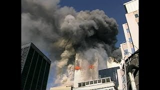 WTC 9/11 Video by Unknown from E & NE (Enhanced Video/Audio & Doubled FPS)