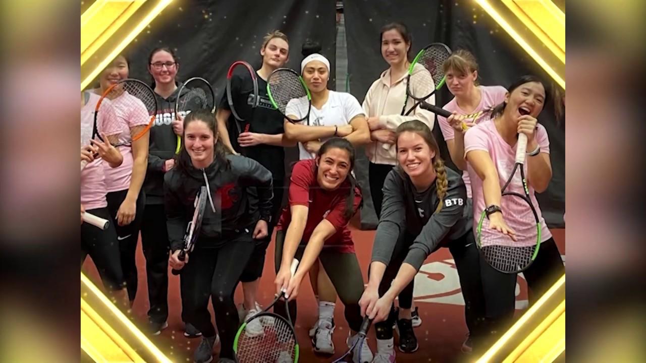 Image for WSU Athletics: WSU Tennis Wins Civic Engagement Award webinar