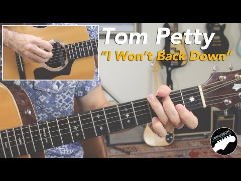 "Tom Petty ""I Won't Back Down"" 