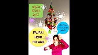 How to Make a Polish Pajaki. Christmas Around the World for Kids!