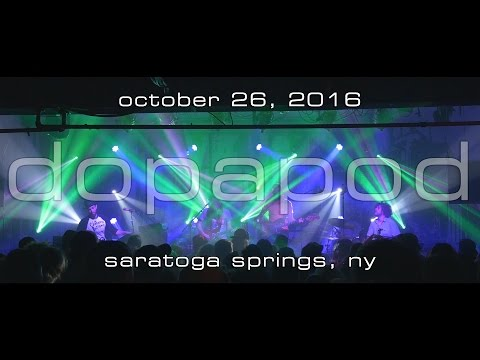 Dopapod: 2016-10-26 - Putnam Den; Saratoga Springs, NY [4K]