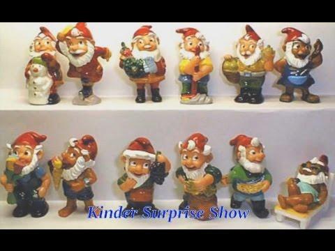 Коллекции  игрушек Киндер Сюрпризов для детей, смотреть видео