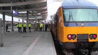 13-4-2016 - Kortsluiting veroorzaakt brand in trein op station Zwolle