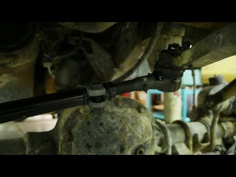 How to Replace a Drag Link on a Jeep Wrangler- Motor Maintenance