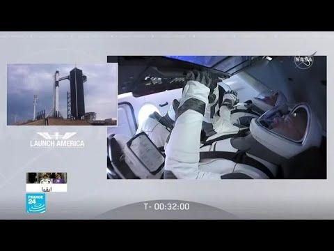 تأجيل رحلة -سبايس إكس- المأهولة إلى الفضاء بسبب سوء الطقس  - نشر قبل 3 ساعة