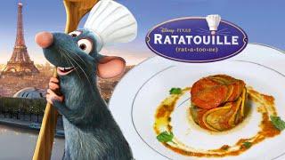 La Ratatouille de Remy (le confit byaldi) - Disney Pixar Recipe