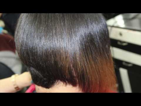 Easy Bob Hair Cut and Blow Dry