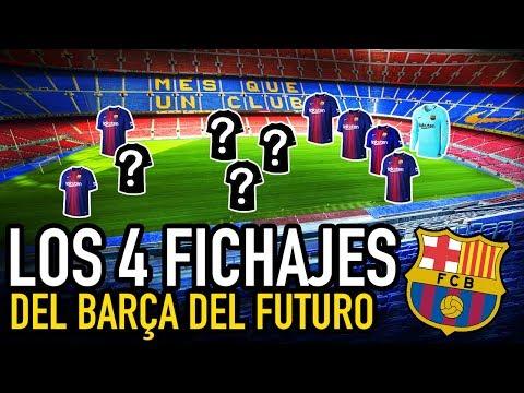 LOS 4 FICHAJES que CAMBIARÁN al BARCELONA | EL BARÇA QUE SE VIENE
