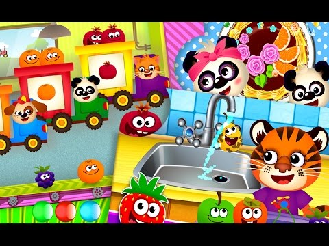 Learning for Toddlers and Preschoolers - Fruits & Veggies Free iPad & Android Game