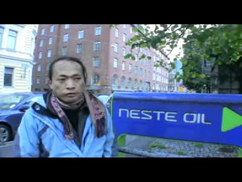 Filmmaker Nanang Sujana's message to Finnish people from indigenous peoples of Indonesia