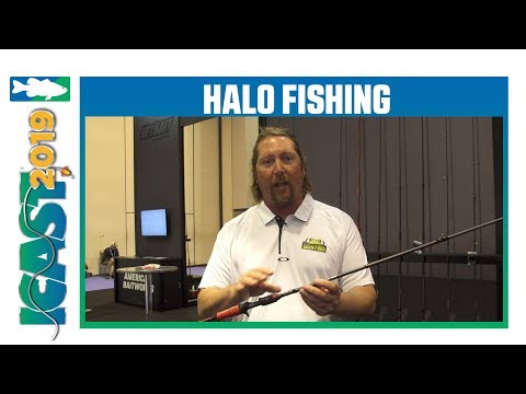 New Halo Fishing Black Widow Series Rod Models With JT Kenny | ICast 2019