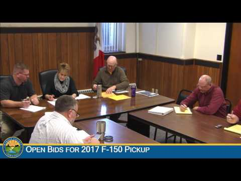 Hardin County Board of Supervisors Meeting: 12-14-2016